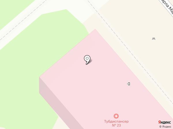 Противотуберкулезный диспансер №23 на карте