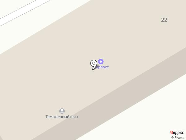 Совмортранс на карте
