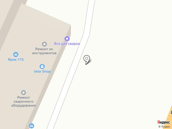 Аквалайн на карте