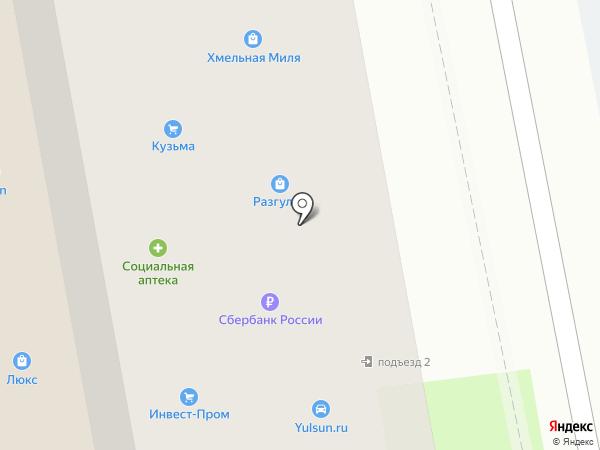 Дятьково на карте