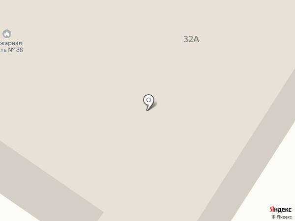Пожарная часть №88 на карте