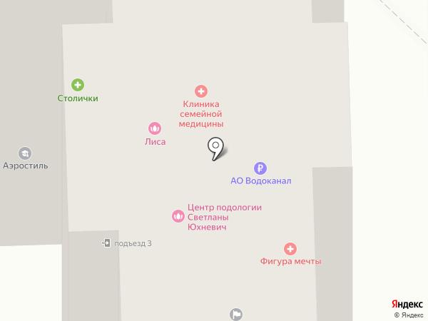 Райв на карте
