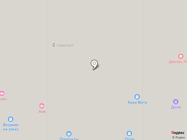 Аквавита на карте