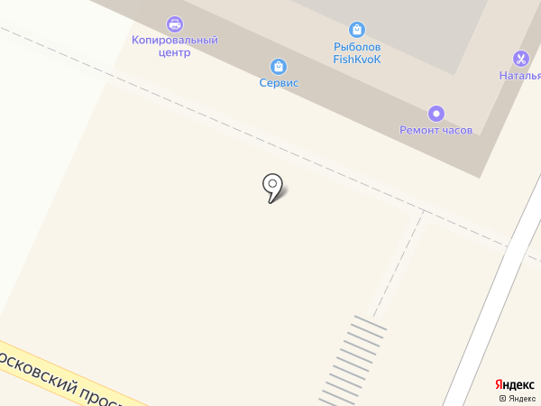 Gateservice на карте