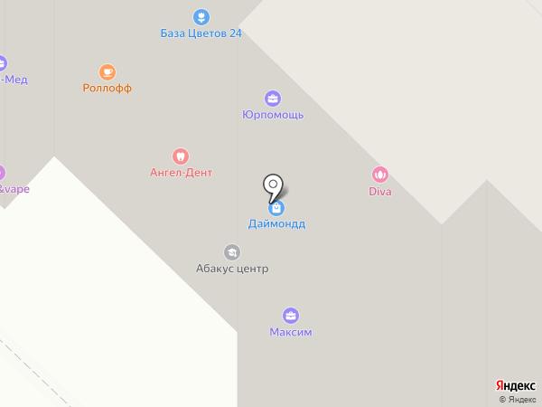 Эммануил на карте