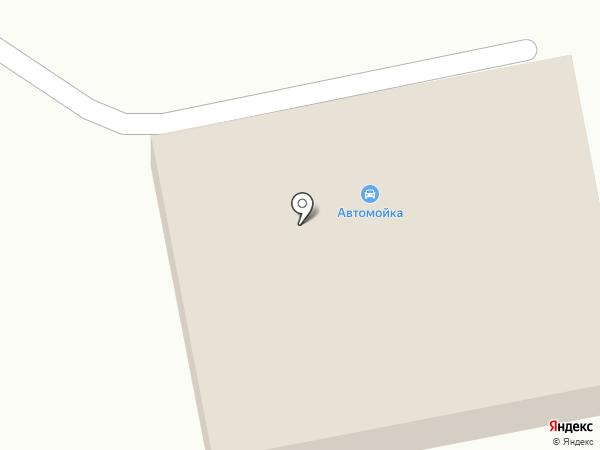 Автомойка на Октябрьской на карте