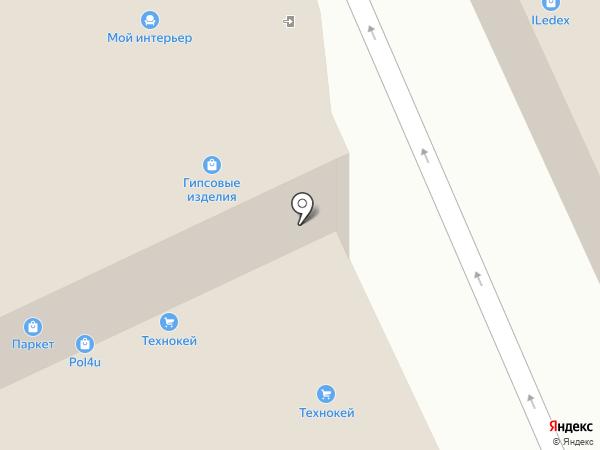 ВинилТекс на карте