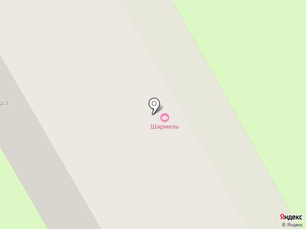 Шармель на карте