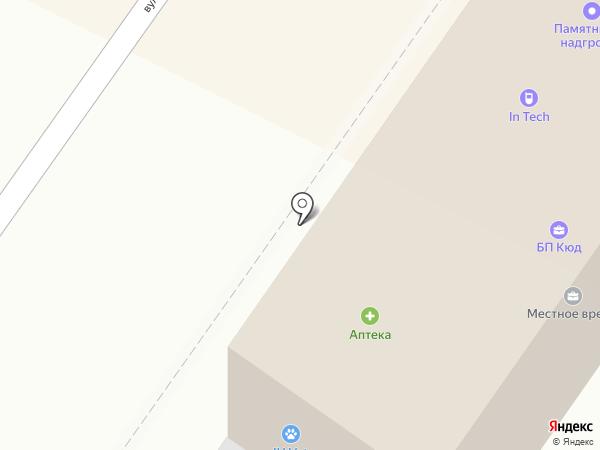 In Tec на карте