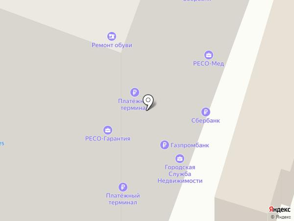 Роллофф на карте