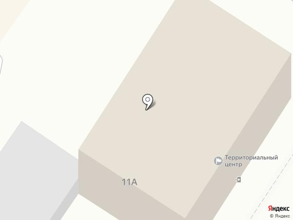 Территориальный центр социального обслуживания (оказания социальных услуг) г. Ясиноватой на карте