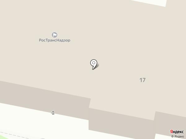Управление государственного автодорожного надзора по Московской области на карте