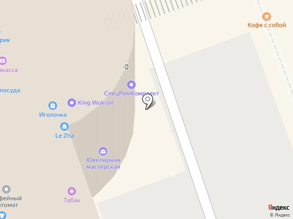 Павловопосадская платочная мануфактура на карте