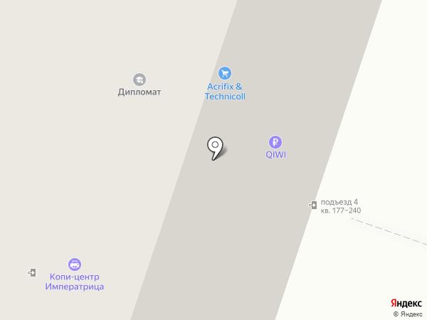 Лесенка на карте