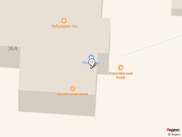 Полюшко на карте