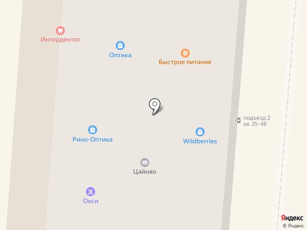 Автоподарки на карте