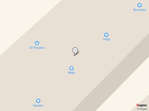 Эстель Адони на карте