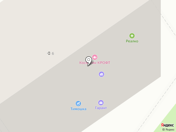 Шако на карте