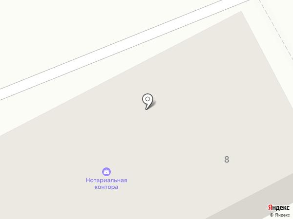 Комбинат коммунальных предприятий Ясиноватского городского совета, КП на карте