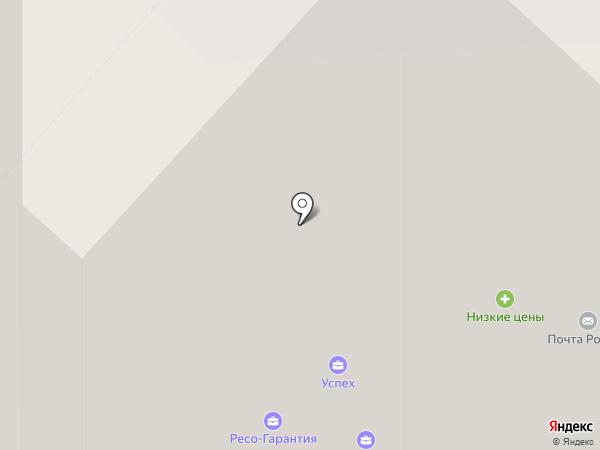 Форм АНТ на карте