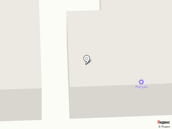Ритуальные услуги, салон на карте