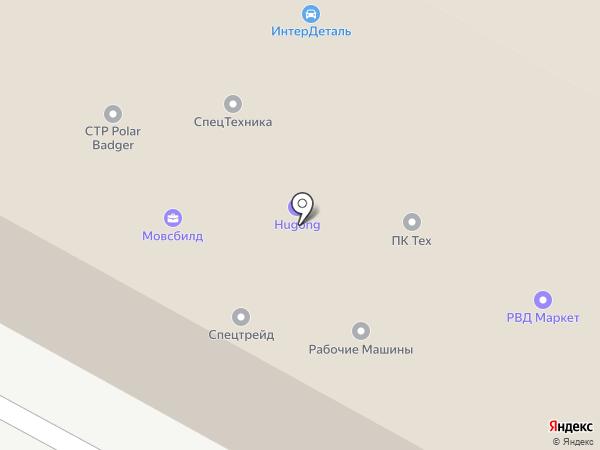 МАСТЕР на карте