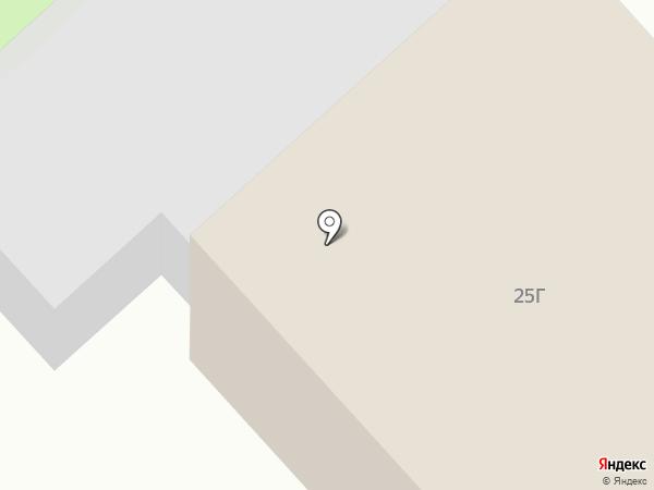 У сквера на карте