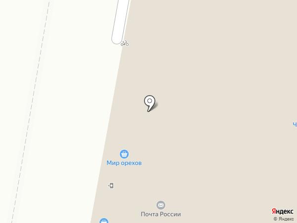 Павлин на карте
