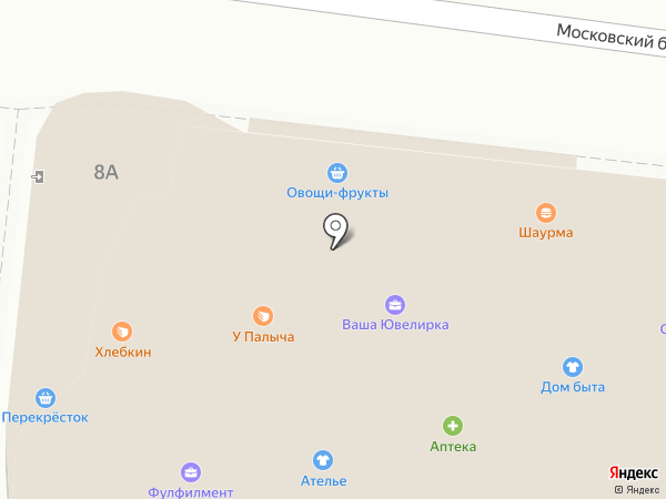 Контур на карте