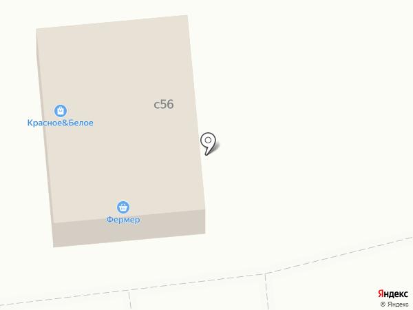 Барыбинец на карте