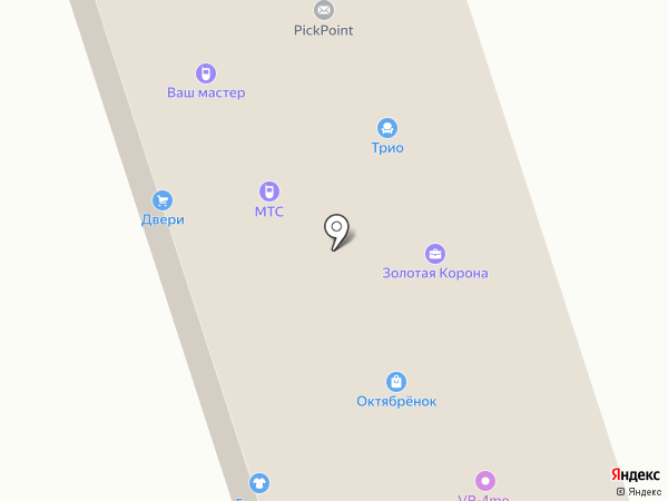 Кораблик на карте