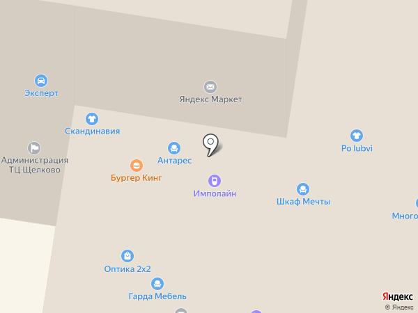 Автокомплекс на Пролетарском проспекте на карте