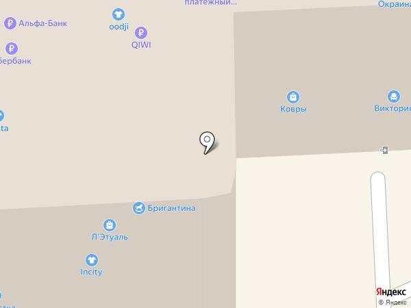 Уютный свет на карте