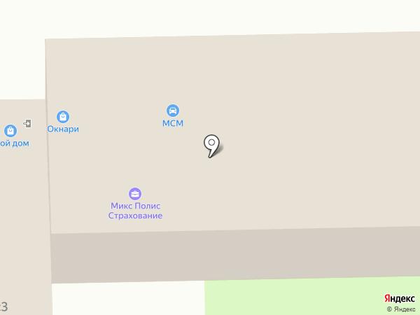 Мсн на карте