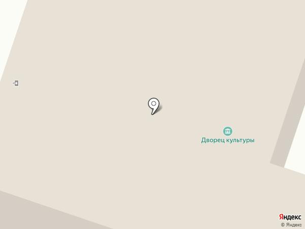 Новосветский дворец культуры на карте
