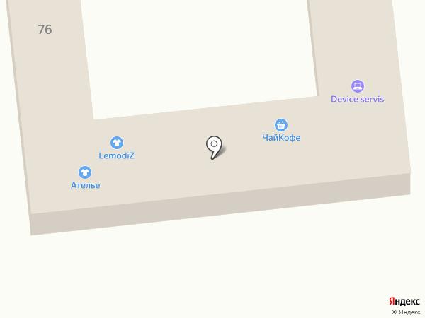 Device сервис на карте