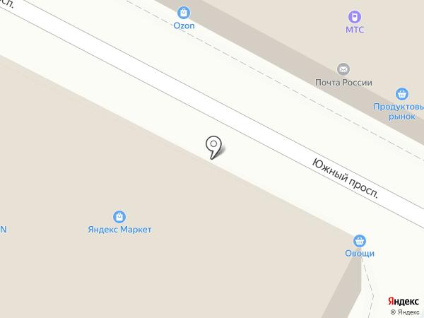 Дубль-А на карте