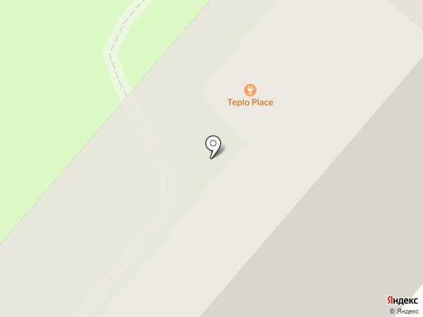Пенная кружка на карте