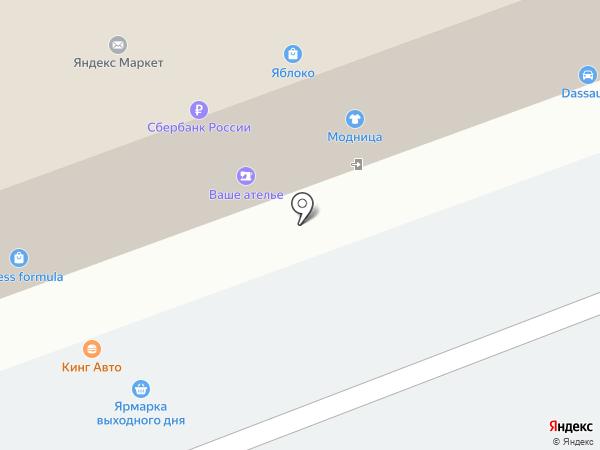 Карандаш на карте