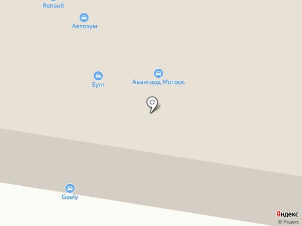 Авангард Моторс на карте