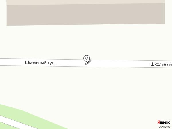 Быковские бани на карте
