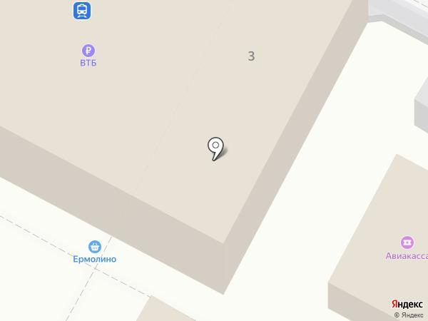 Быково на карте