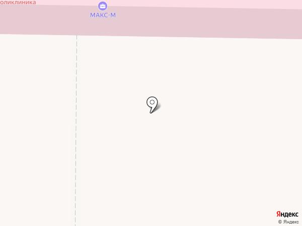 Быковская поликлиника на карте