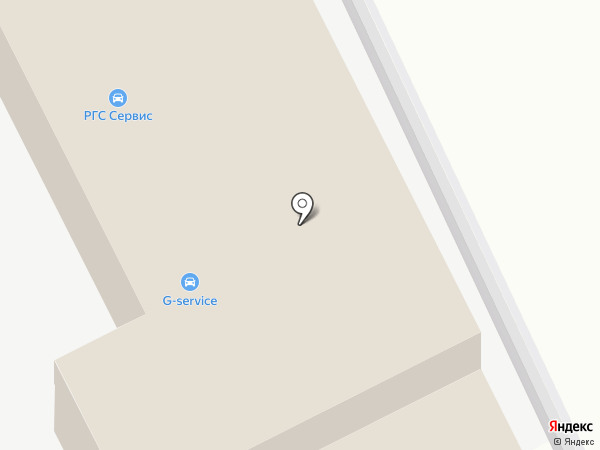 Автостоянка на ул. Мясищева на карте