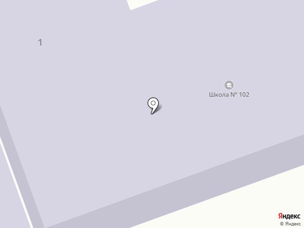 Макеевский учебно-воспитательный комплекс №102 на карте