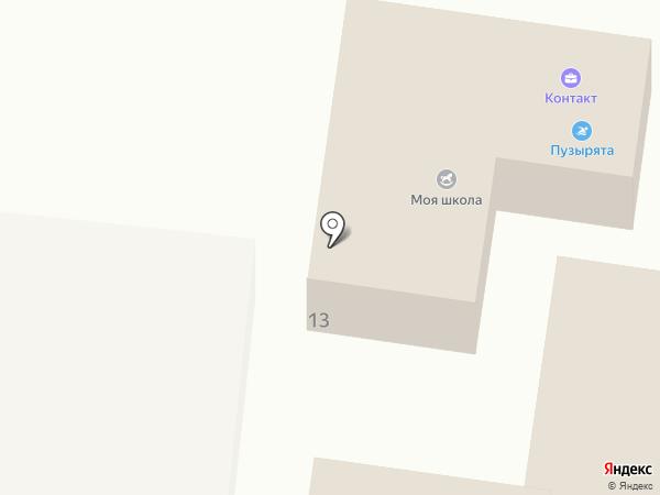 Матрешка на карте