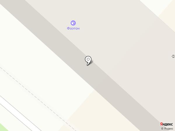 Эконом, компания по заказу транспорта на карте