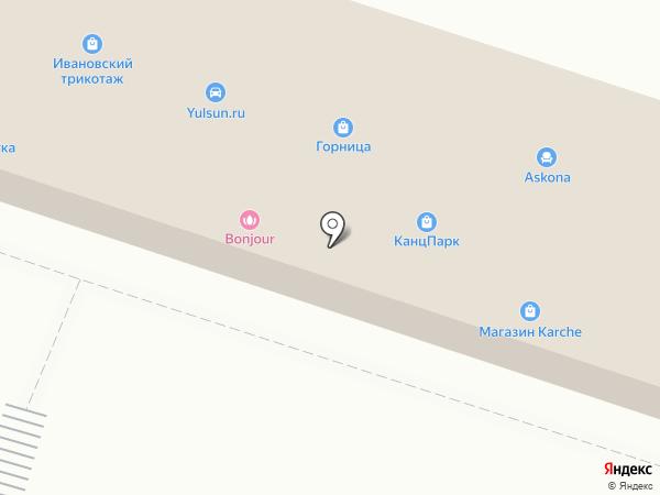 Сеть компьютерных клиник на карте