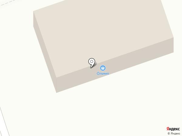 Олімп, магазин отделочных и строительных материалов на карте