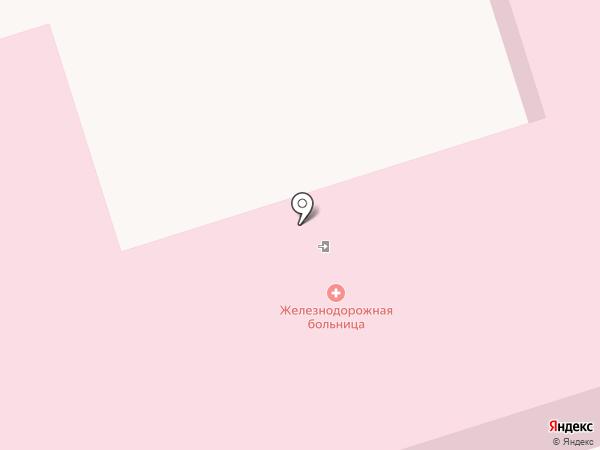 Детская поликлиника, Узловая больница ст. Иловайск на карте